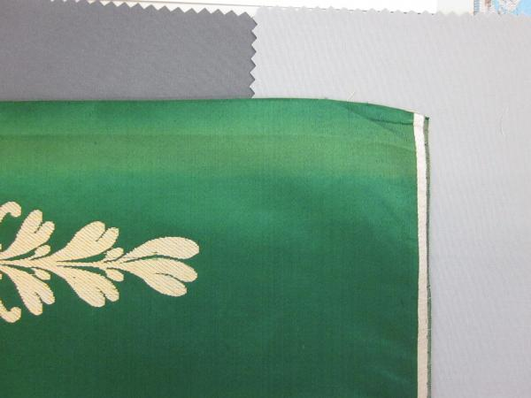 18th century silk and 21st century swatches