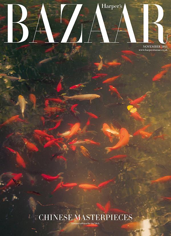 November 2013 issue of Harper's Bazaar exclusive to the V&A