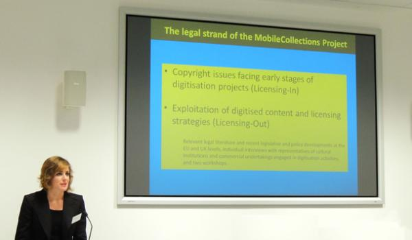 Eleonora Rosati discusses licencing