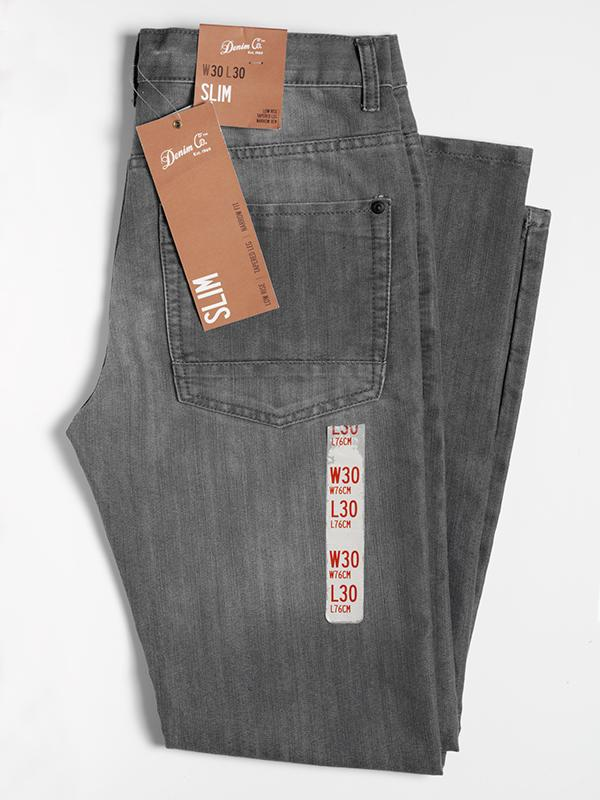 Denim Co Slim Jeans, manufactured for and sold by Primark, 2013