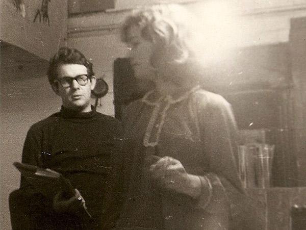 Ian and Erica, 1962. © Ian Rakoff