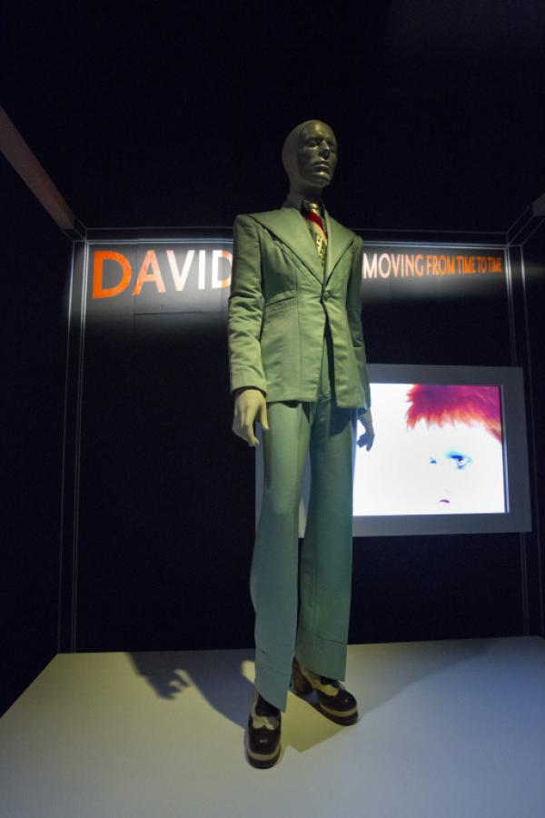 David Bowie Green Suit