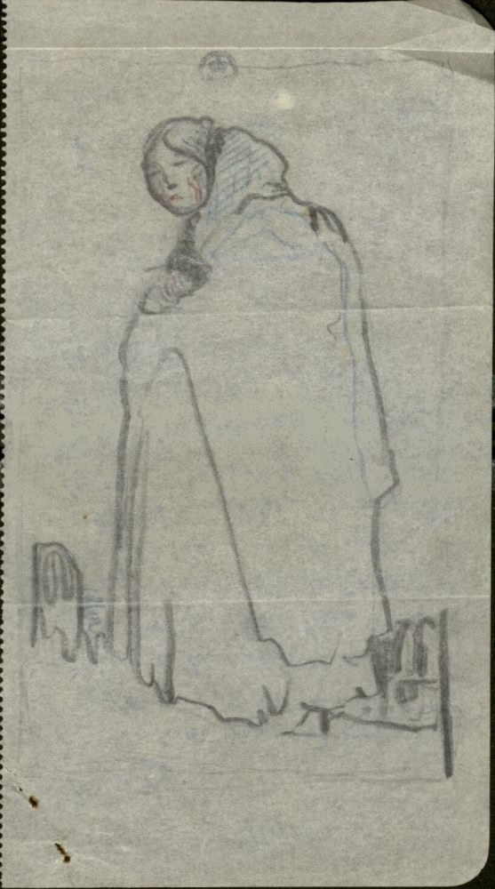 Drawing by Claude Lovat Fraser c.1916 Museum no. 38041800823411 © Victoria and Albert Museum