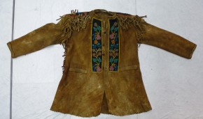 Jacket, moose hide embroidered with moose hair, T.228-1957 © Victoria and Albert Museum, London
