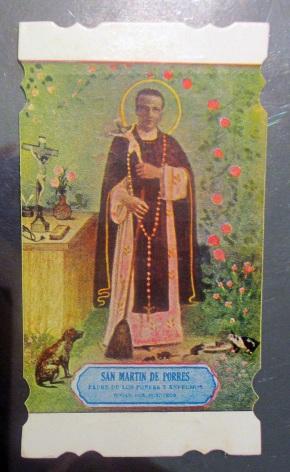 Lithographic print showing St. Martin de Porres, Peru, 1937 ©Victoria and Albert Museum, London