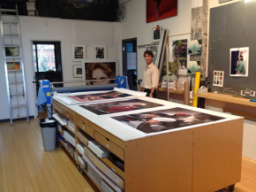 Ken Allen at final photo proofing session