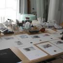 Rose Frain's studio