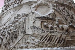 Trajans column V&A
