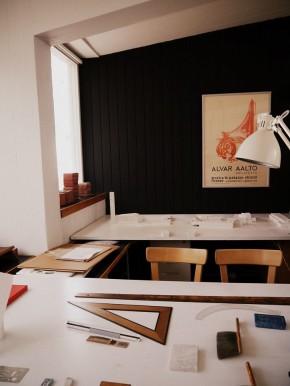 Aalto Studio desks Image © Roxanne Ravenhill, 2015