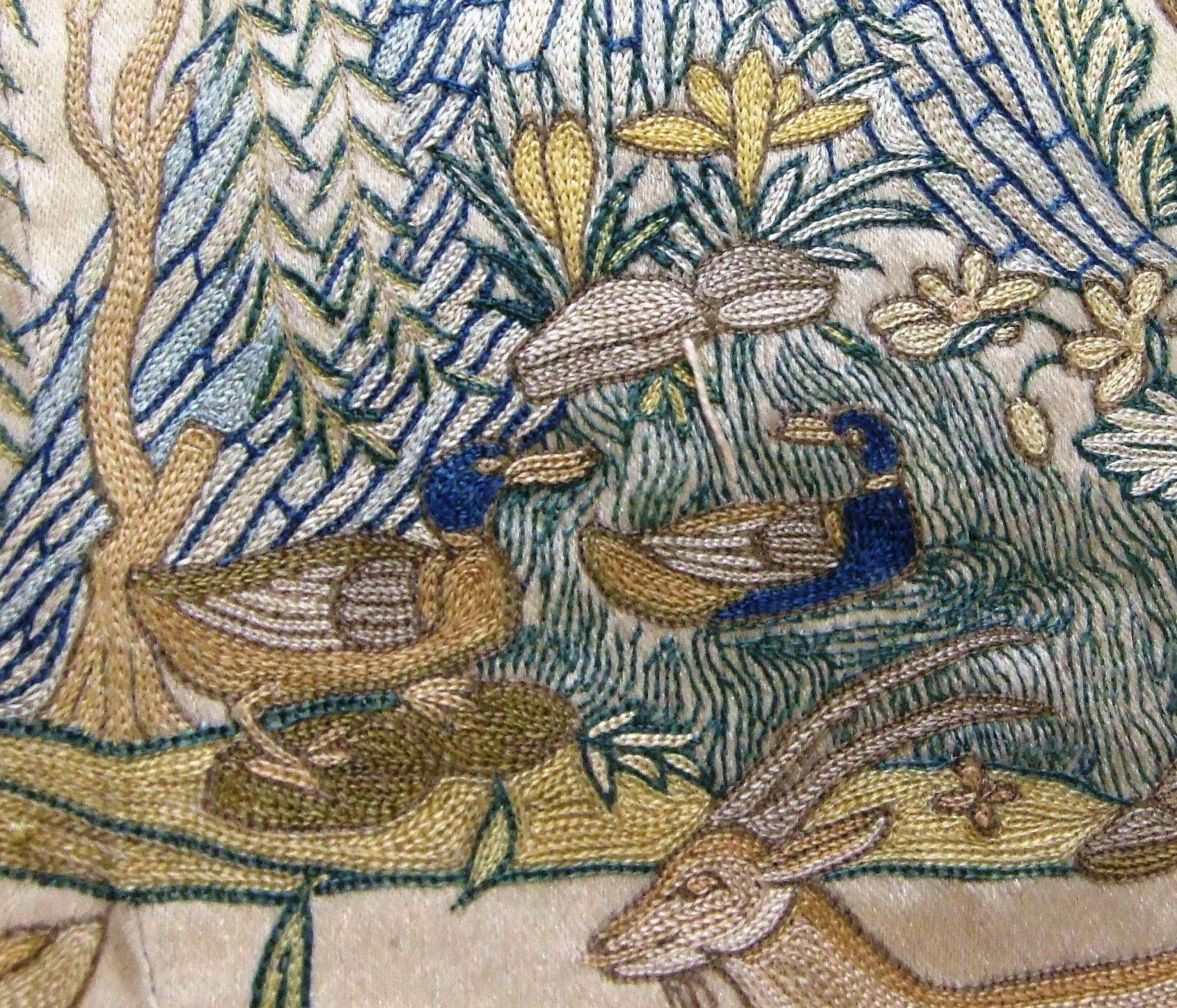 Ducklings in the digital age and indian textiles