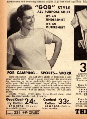 1938 Sears Summer Catalogue