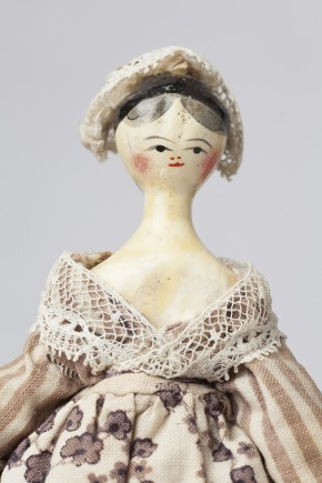 """Johanna"", Doll from Tate Baby House, W.9F-1930. (c) V&A Museum, London"