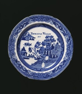 Plate  Possibly made at the factory of Josiah Spode, Staffordshire, dated 1818  Lead-glazed earthenware (V&A C.231-1934) Given by the National Art Collections Fund from the bequest of Mrs Campbell