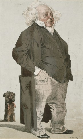 Print by Carlo Pellegrini, cartoon of Henry Cole for Vanity Fair