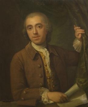 'Portrait of an Unknown Man', circle of Philip Mercier, 18th century. E.1222-1992. (c) Victoria & Albert Museum, London