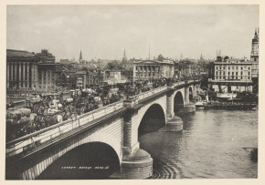 Photograph of London Bridge, S J Beckett, 1901, E.3378-2000 (c) V&A Museum, London