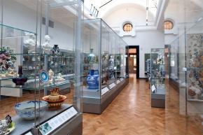 The refurbished ceramics galleries, 2010 © Victoria and Albert Museum, London.