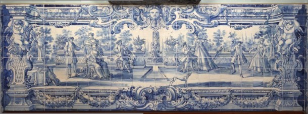 Tile panels from the music room of Quinta Formosa, Lisbon, ca. 1720-30