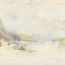 'Lago Maggiore from Stresa' by Sir Alfred East