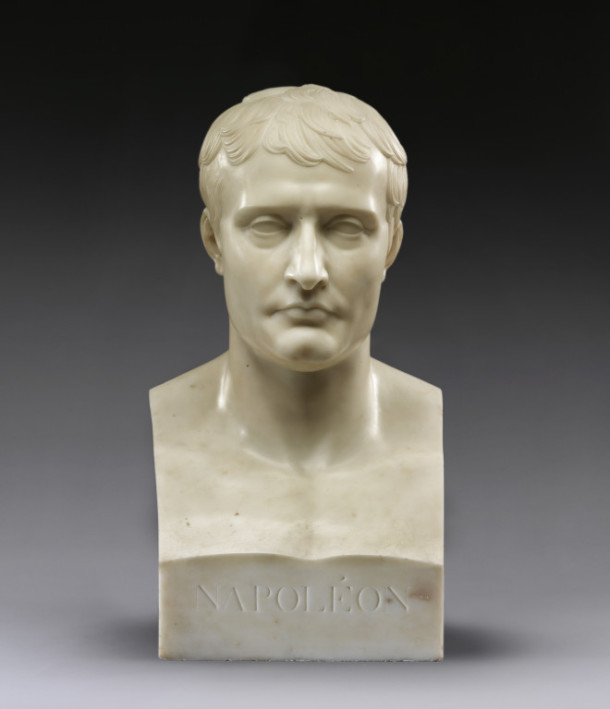This bust copies that of a Roman emperor. The image of the new emperor was at the heart of Napoleonic Europe. Bust of Napoleon I, 1807–9