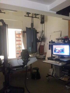 V&A Photography studio