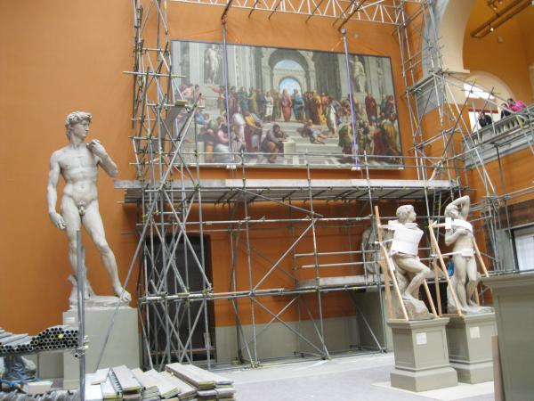 The School of Athens on slings
