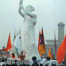 Goddess of democracy, Beijing, China, 1989