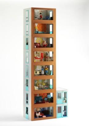 Jennys Home, modular dolls' house. B.360-2013 (c) V&A Museum, London