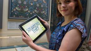 new iPad game, Strawberry Thief