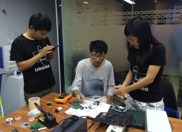 Lego2Nano Open Day at Shenzhen Open Innovation Lab