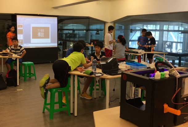 3D laser printing workshop for kids at Futureward