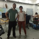 Cesar Harada and Fiona Ching at MakerBay