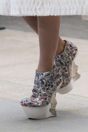 Gianni pucci photo-mcqueen mosaic shoes