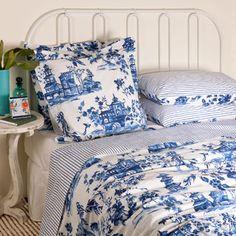 Zara willow pattern bedding