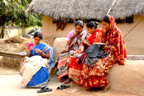 'SHE' workers in villages, West Bengal
