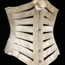 T.18-1958 Underbust Satin Ribbon Corset, c.1895 © V&A Collection