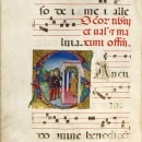 Gradual (Dominican). Page illustrating the Feast of Tiburtius, Valerian and Maximus. NAL:38041800591901; NAL:KRP.G.6; NAL:MSL/1963/3691; NAL:f48v