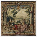 Tapestry of wool and silk, Paris, 1670-1700  334.9x339cm.   Museum no. T.371-1977