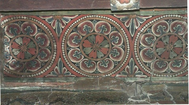 Tabo, assembly hall ceiling 11th c