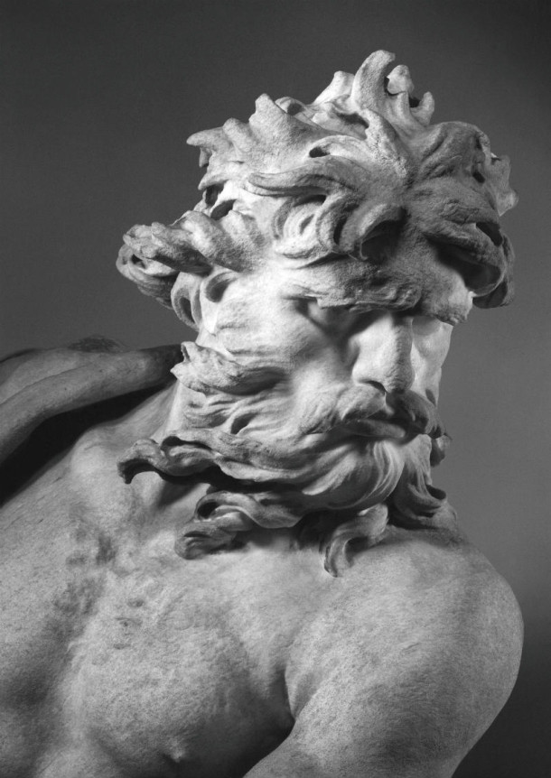 Detail of Neptune's face © Victoria and Albert Museum, London
