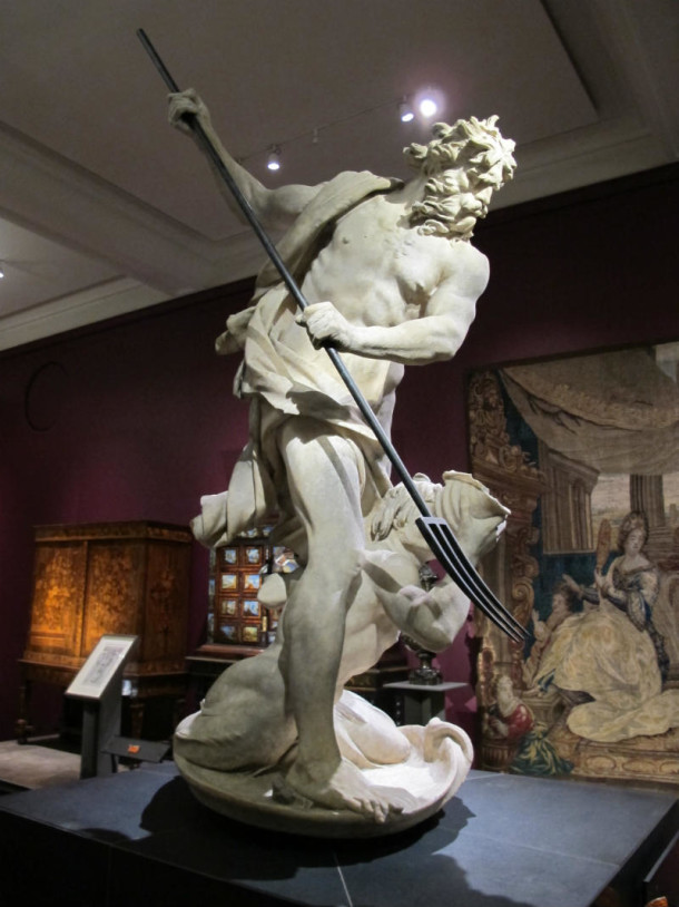 Neptune and Triton in the Europe 1600-1815 gallery © Victoria and Albert Museum, London