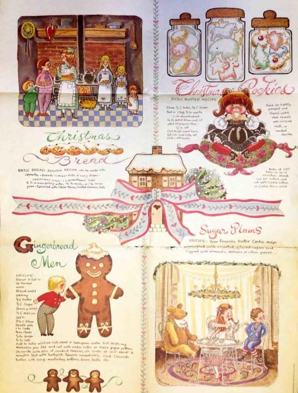 festive recipe print