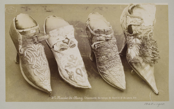 16th Century Shoes 16th Century French Shoes