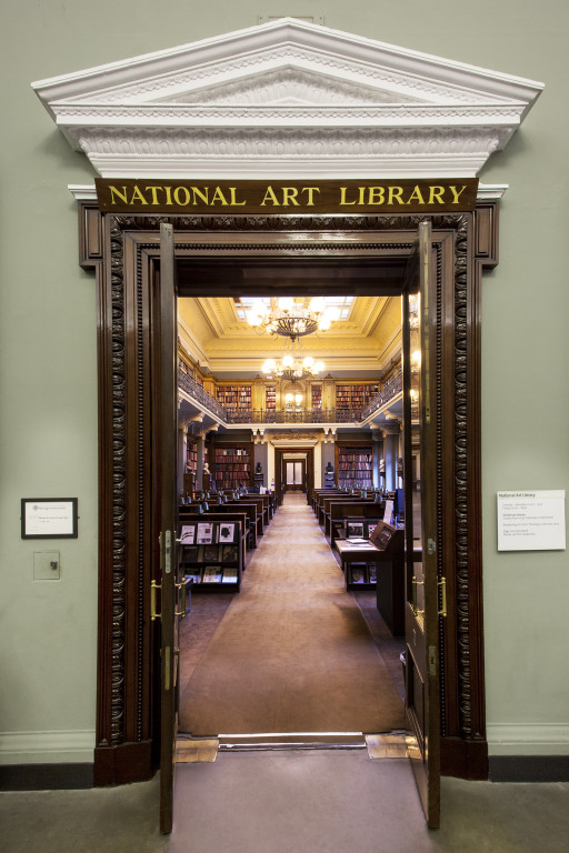 Entrance to The National Art Library