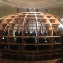 The Globe, installation by the Cuban art collective Los Carpinteros