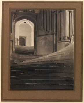 A Sea of Steps, 1903, by Frederick Henry Evans (1853-1943). Image No. 10550850. Source No.: 2003-5001_2_23326. © Royal Photographic Society/National Media Museum / Science & Society Picture Library