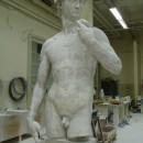 PICTURE 1 : David in the Brussels plaster cast workshop ©KMKG-MRAH, Brussels