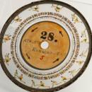 One of Eadweard Muybridge's Discs © Kingston Museum & Heritage Service
