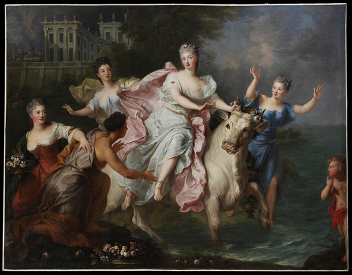 The Rape of Europa, Pierre Gobert, 1710-1720, France (Paris), oil on canvas, Museum no. 549-1882, © Victoria and Albert Museum, London