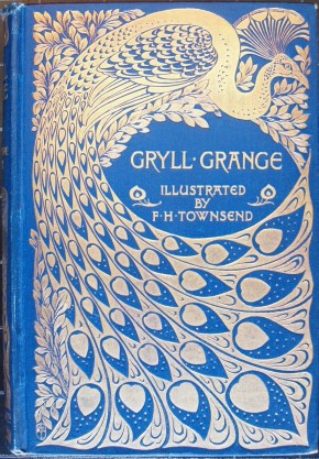 Gryll Grange by Thomas Love Peacock. Book, published London: Macmillan, 1896. NAL: 38041990065849. ©Victoria & Albert Museum, London
